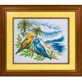 Panna ПТ-0856 Волнистые попугайчики