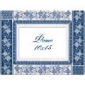Panna РМ-1783 Рамка для фотографии. Голубая лоза