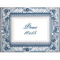 Panna РМ-1784 Рамка для фотографии. Синяя роза