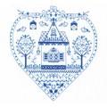 Panna СО-1402 Оберег. Синее сердечко