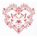 Panna СО-1403 Оберег. Сердце с голубями