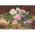 Panna Ц-0420 Букет цветов с бабочкой