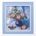 Panna Ц-0978 Букет хризантем в вазе
