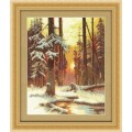 Panna ВХ-1076 Закат в снежном лесу