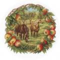 Panna Ж-1453 Кони в яблоках