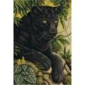 Panna Ж-1697 Черный бархат джунглей