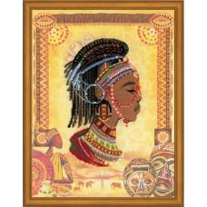 Набор для вышивания 0047 РТ Африканская принцесса