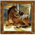 Риолис 0052 РТ Жеребенок и щенок