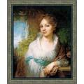 Риолис 100/048 Портрет М.И. Лопухиной по мотивам картины В.Л. Боровиковского