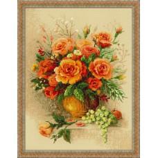 Набор для вышивания 100/049 Чайные розы