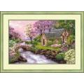 Риолис 1098 Весенний пейзаж