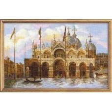 Набор для вышивания 1127 Венеция. Площадь Сан-Марко
