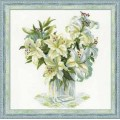 Риолис 1169 Белые лилии