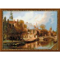 Риолис 1189 Амстердам. Старая церковь и Церковь св. Николая Чудотворца