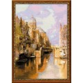 Риолис 1190 Амстердам. Канал Аудезейтс Форбургвал