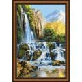 Риолис 1194 Пейзаж с водопадом