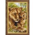Риолис 1262 Львица с львёнком