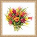 Риолис 1293 Тюльпаны в вазе