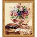Риолис 1302      Цветочный этюд