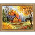 Риолис 1325 Деревенский пейзаж. Осень