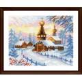 Риолис 1326 Деревенский пейзаж. Зима