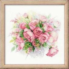 Набор для вышивания 1335 Акварельные розы