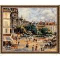 Риолис 1396 ПлощадьТроицы.Париж по мотивам картины Пьера Огюста Ренуара