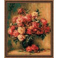 Риолис 1402 Букетроз по мотивам картины Пьера Огюста Ренуара
