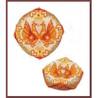 Риолис 1474АС Свадебная подушечка для колец