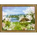 Риолис 1524 Яблони в цвету