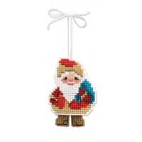Риолис 1538АС Новогодняя игрушка Дедушка Мороз