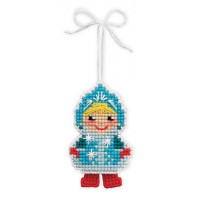 Риолис 1539АС Новогодняя игрушка Снегурочка