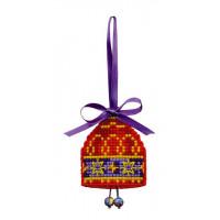 Риолис 1540АС Новогодняя игрушка Колокольчик
