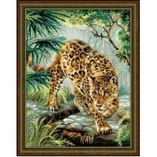 Набор для вышивания 1549 Хозяин джунглей