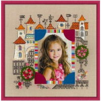 """Риолис 1580 Панно для фотографии """"Замок принцессы"""""""