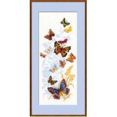 Набор для вышивания 902 Бабочки России