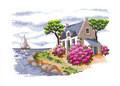 Royal Paris 6437.0018 En Bretagne (Домик в Бретани)