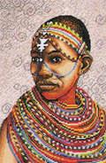 Royal Paris 9880.6437.0030 Jeune Fille Massai (Девушка из племени масаи)