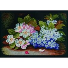 Набор для вышивания М231 Цветы яблони и сирени