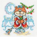 RTO Н185 Новогодняя кошечка