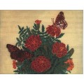 RTO R252 Бабочки и цветы