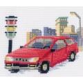 RTO С054 Красный автомобиль