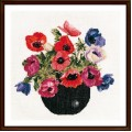 Thea Gouverneur 1064 Bowl Of Anemones (Чаша анемонов)