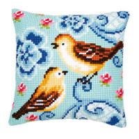 Vervaco 1200-136 Подушка Birds in love