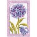 Vervaco PN-0003759 Синяя птичка и цветы