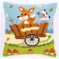 Vervaco PN-0144825 Подушка Forest Friends in Cart