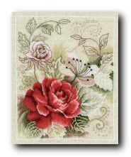 Набор для вышивания PN-0145133 Bouquet with Rose (Букет роз)