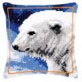Vervaco PN-0145508 Подушка Белый медведь (Polar Bear)