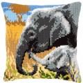 Vervaco PN-0146813 Подушка Elephant Love (Слоновья любовь)