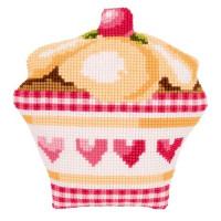 Vervaco PN-0147450 Подушка Cupcake (Пирожное)